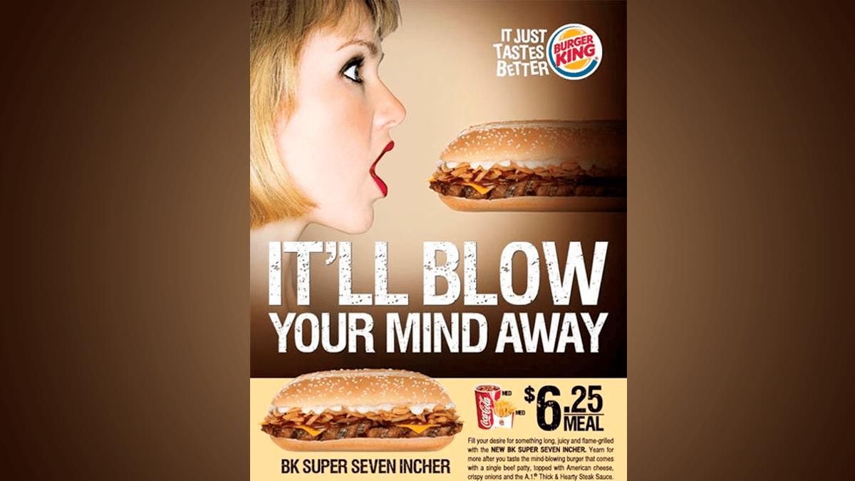 Publicidad subliminal Burger King