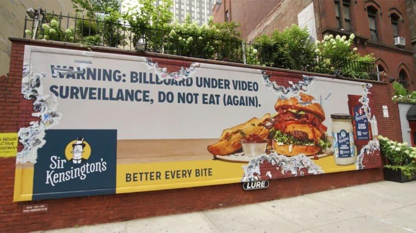 Esta sabrosa campaña de publicidad exterior está para comérsela a mordiscos (literalmente)
