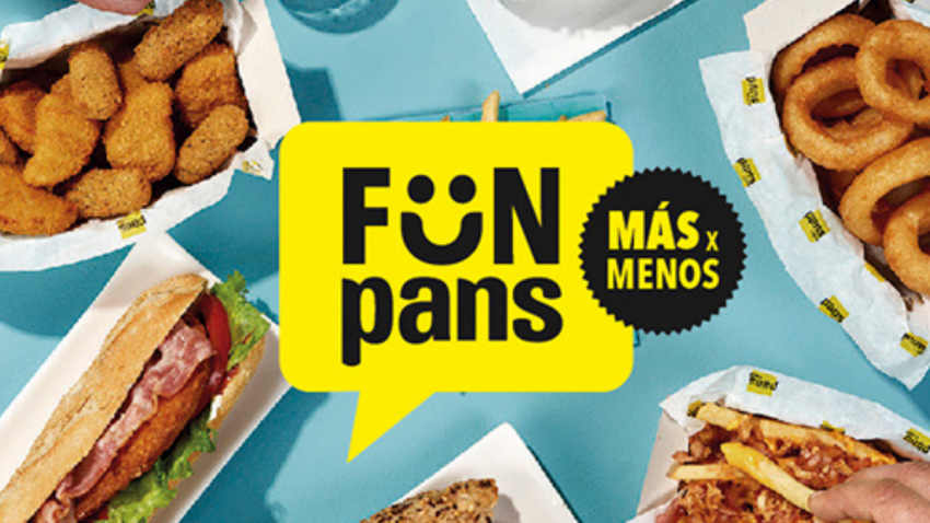Pans & Company apuesta por el disfrute compartido con el lanzamiento de FÜN PANS