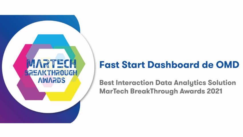 OMD Worldwide ganadora del MarTech Breakthrough Award 2021