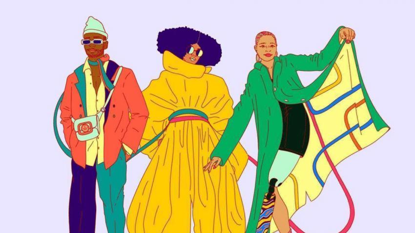 El diseñador Sergio Hudson y Pinterest juntos en la Semana de la moda 2021