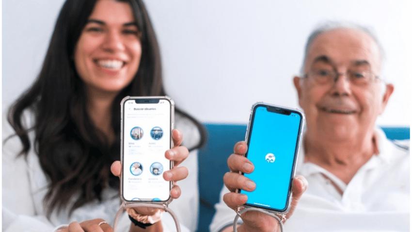 Adopta Un Abuelo lanza su nueva app con motivo del Día Internacional de las Personas Mayores