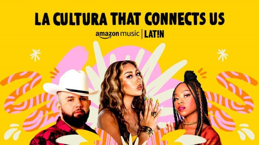 Amazon Music LAT!N celebra su primer año con contenidos que conectan géneros y culturas