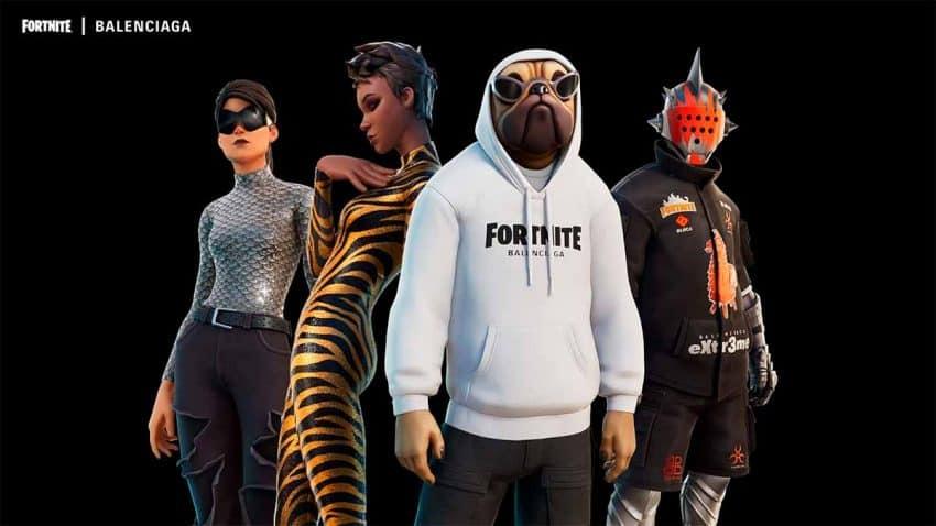 Balenciaga se adentra en Fortnite para que los jugadores vayan a la última moda