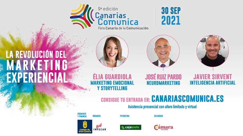 El marketing experiencial, protagonista de Canarias Comunica