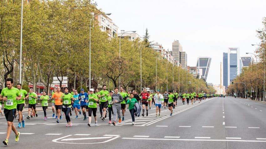 Regresa la 'Carrera Madrid En Marcha contra el Cáncer' de la AECC en la que se podrá participar de manera presencial y virtual