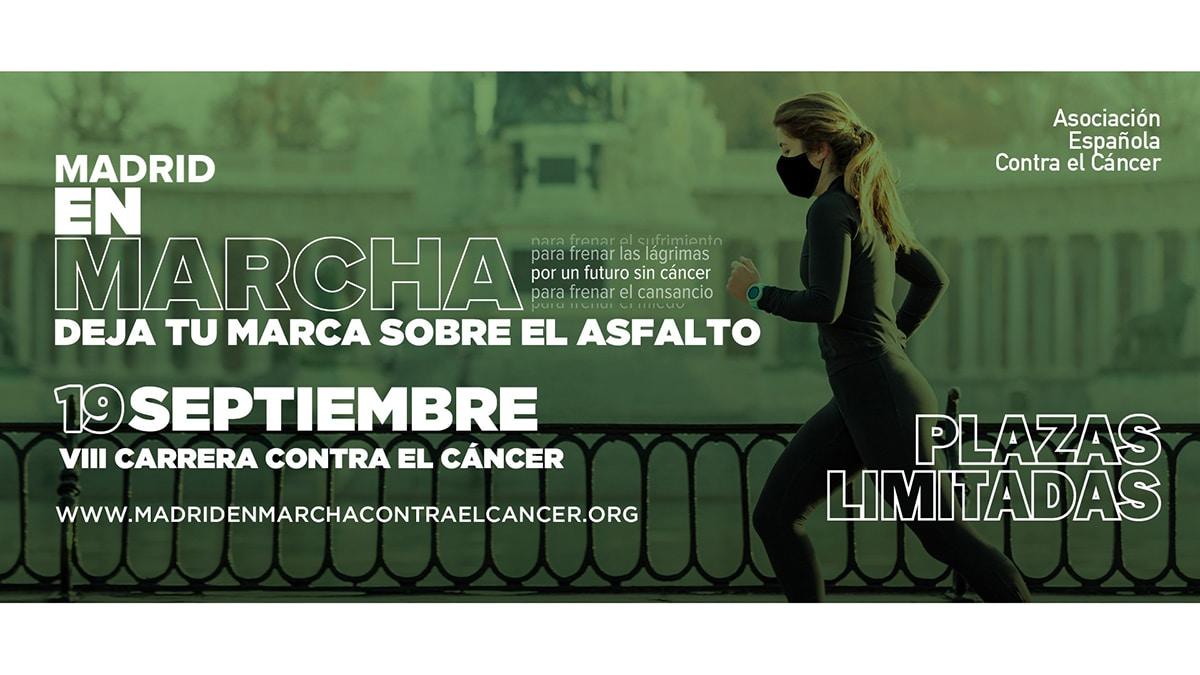 cartel marcha madrid cáncer