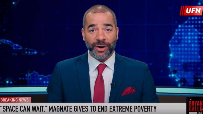 Esta campaña denuncia la desigualdad y la pobreza a golpe de un sarcástico noticiario falso