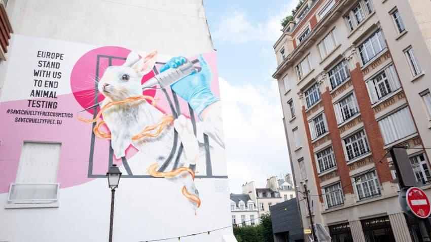 Dove y The Body Shop piden a la UE que mantenga la prohibición de la experimentación en animales