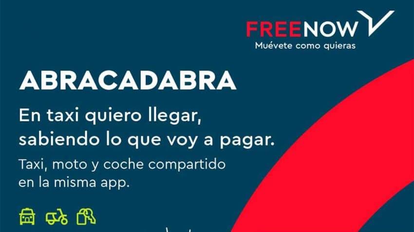 Abracadabra: FREE NOW hace