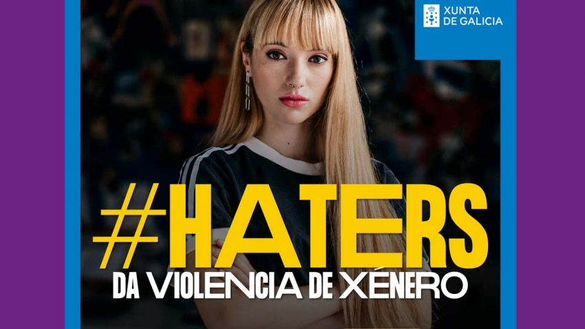 La Xunta de Galicia moviliza a los haters de la violencia de género en esta campaña