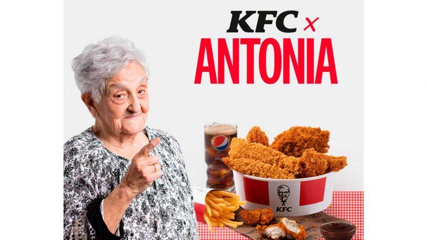 KFC trolea a McDonald's con el Menú Antonia y un mensaje a Ana Guerra