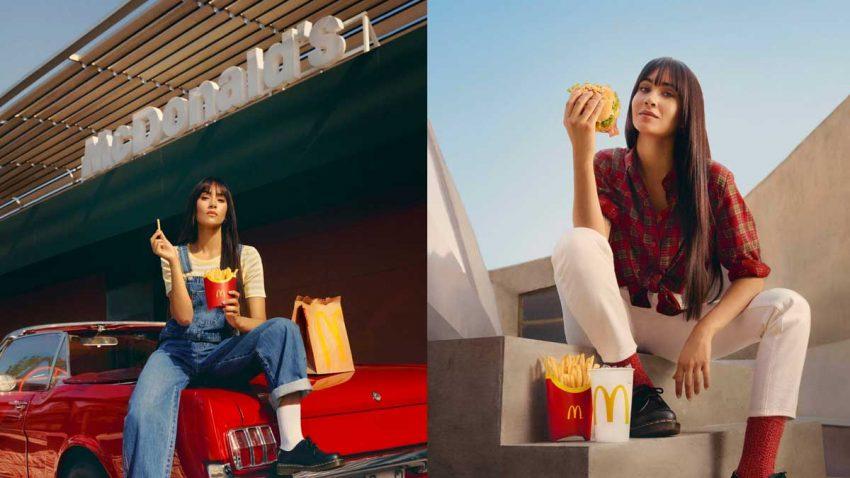 McDonald's lanza el menú favorito de Aitana: así es la campaña que da voz a su colaboración
