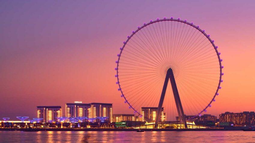La noria más alta del mundo comenzará a rodar en Dubái el próximo 21 de octubre