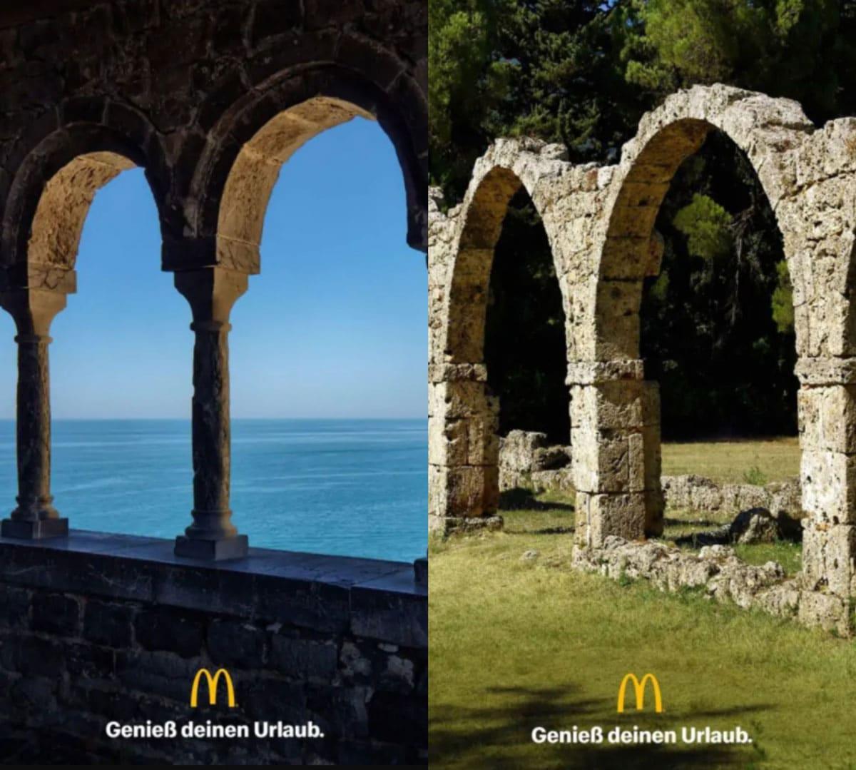 publicidad mcdonald's arcos