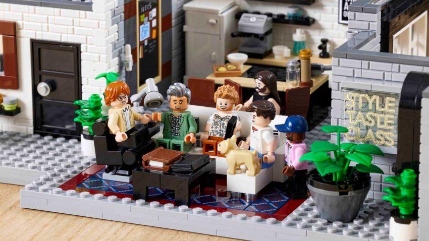 El Grupo LEGO y Queer Eye lanzan un set como homenaje al programa de televisión