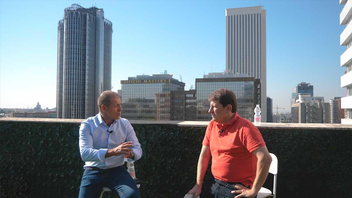 Skyline oficinas MarketingDirecto.com Javier Piedrahita Mikel Lekaroz