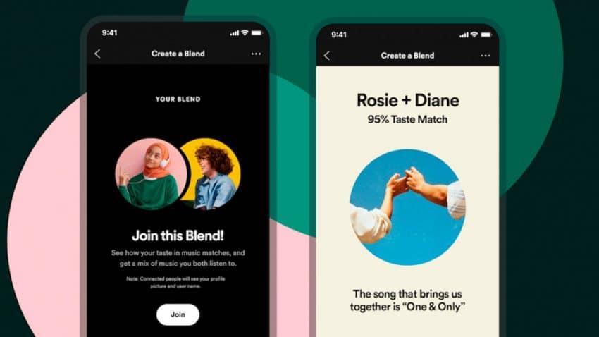 Spotify lanza Fusión, la función que permite combinar los gustos musicales entre amigos