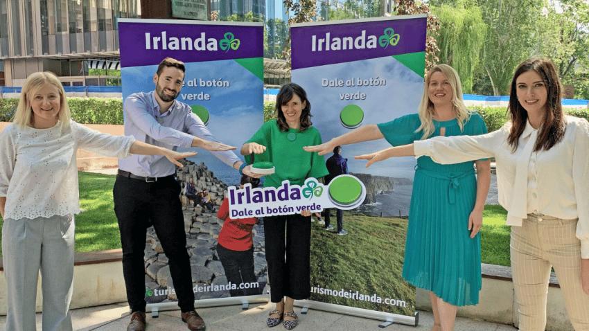 Turismo de Irlanda invita a los viajeros  a darle al