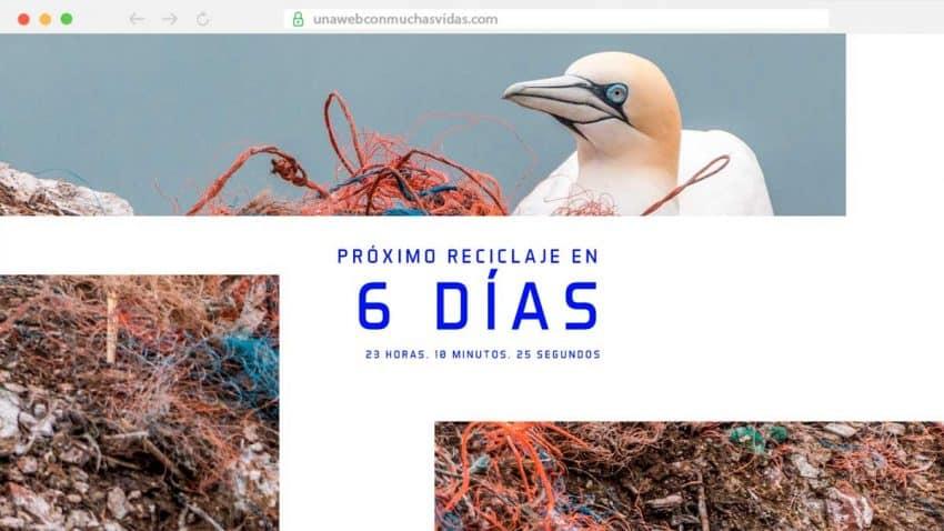 ALPLA y Shackleton lanzan la primera web que se recicla y se reinventa