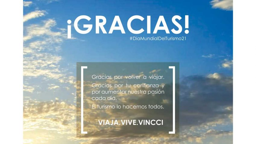 Vincci Hoteles lanza un importante mensaje por el Día Mundial del Turismo