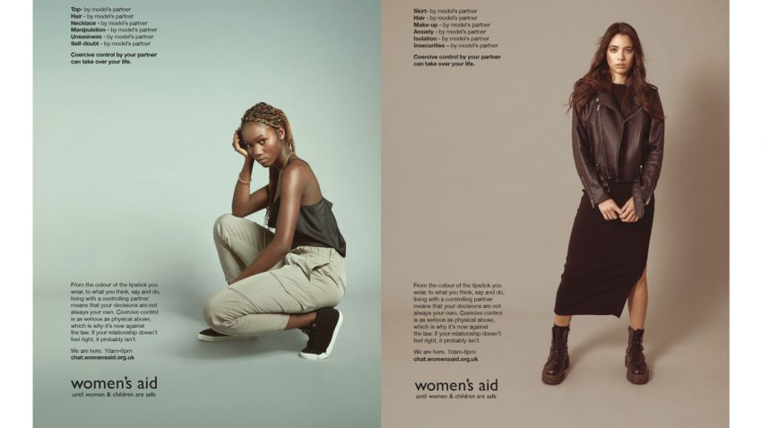 Estas fotografías de moda dan voz a un aspecto del abuso doméstico difícil de detectar