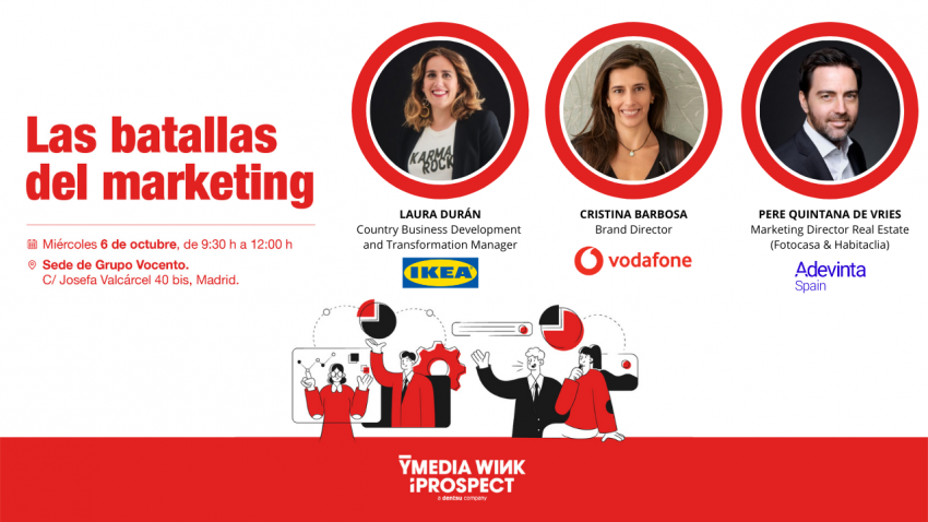 ¿Te gustaría saber cómo tres marcas líderes gestionan hoy el marketing del futuro?