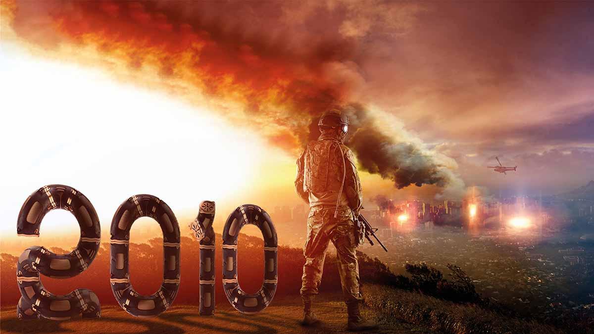 """Imagen de un videojuego con el año """"2010"""", para combatir el movimiento #Anti2010"""