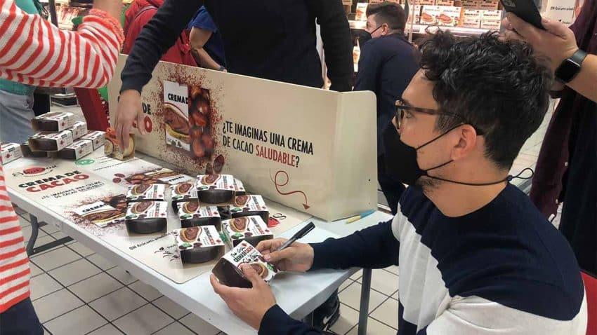 Carlos Ríos lanza una crema de cacao 'realfooder' de la mano de Shukran Foods