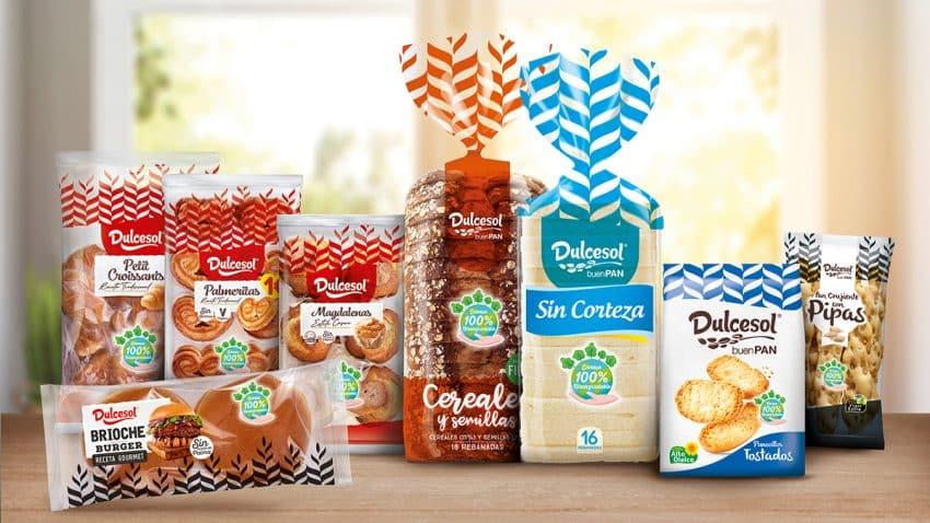 Dulcesol alcanza el 100% de envases biodegradables en toda su línea de productos