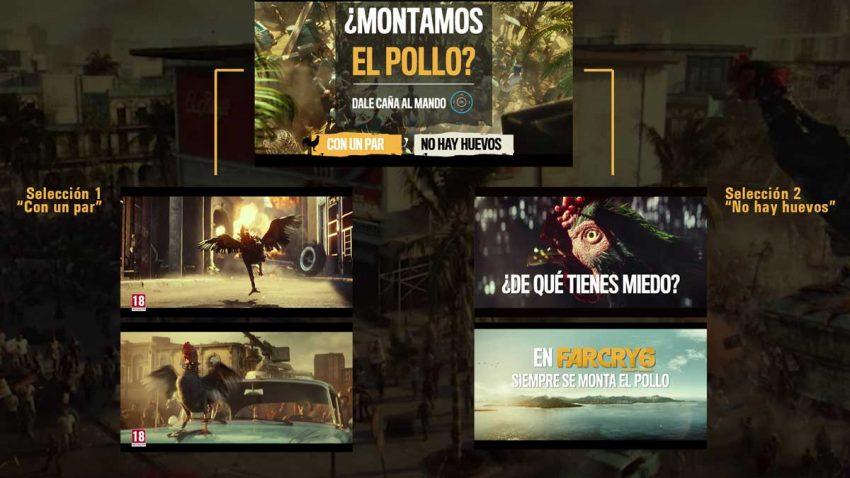 El brutal e interactivo anuncio de Far Cry 6 en el que el espectador elige el final