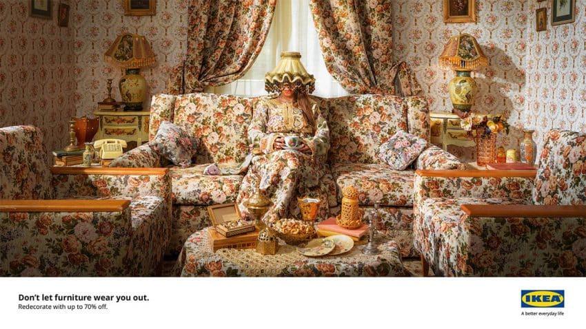IKEA te advierte de los peligros de ser engullido por tus trasnochados muebles