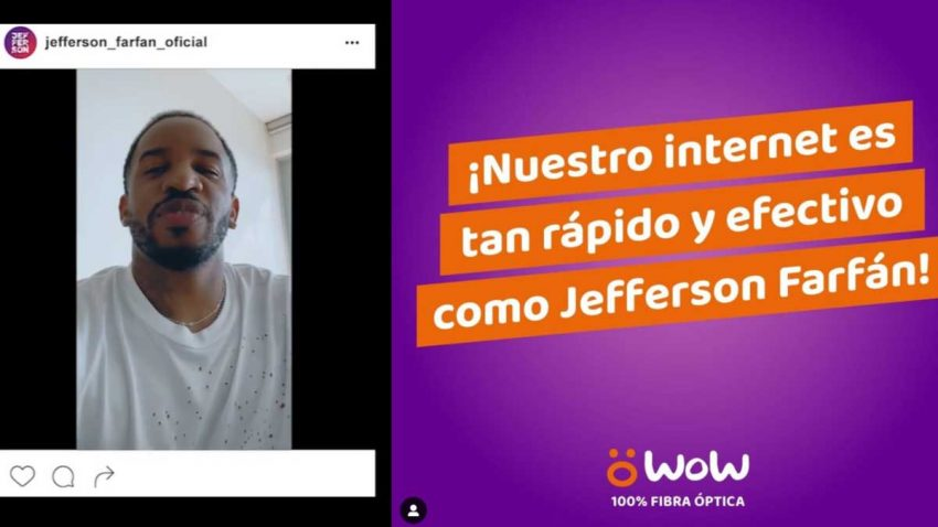 Esta startup peruana reta a Jefferson Farfán en una campaña de publicidad con causa