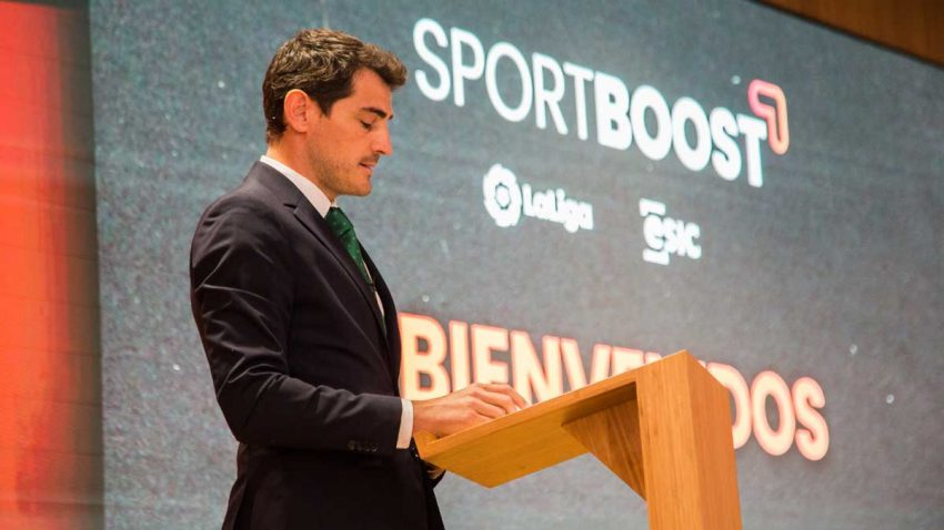Iker Casillas presenta Sportboost, una aceleradora de startups deportivas