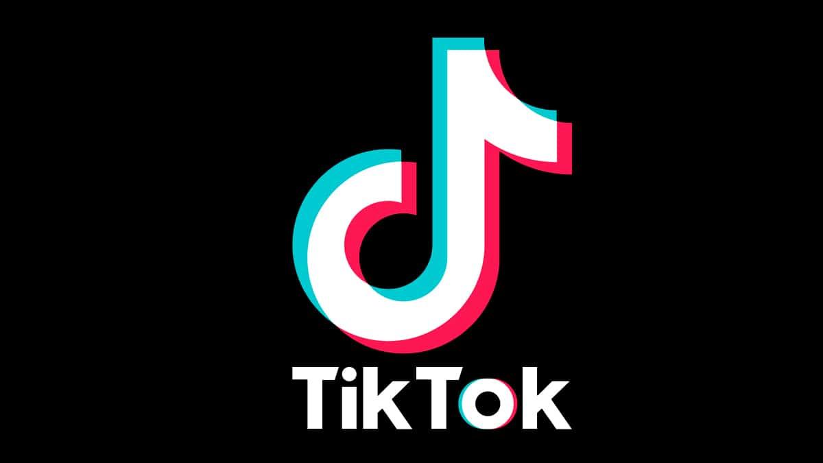Tipografía logo tiktok